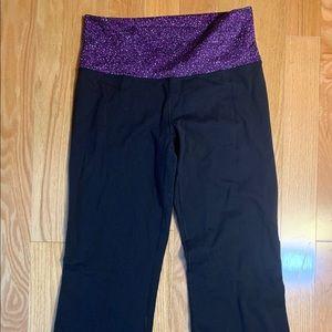Lululemon  black and purple Leggings
